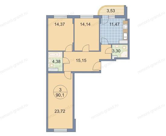 Цены на капитальный ремонт квартир в Москве и Московской