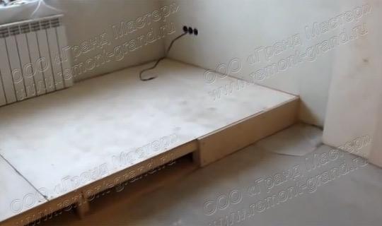 Подиум как сделать в квартире
