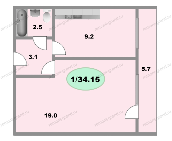 Планировка квартир и-700а. ремонт в и-700а..